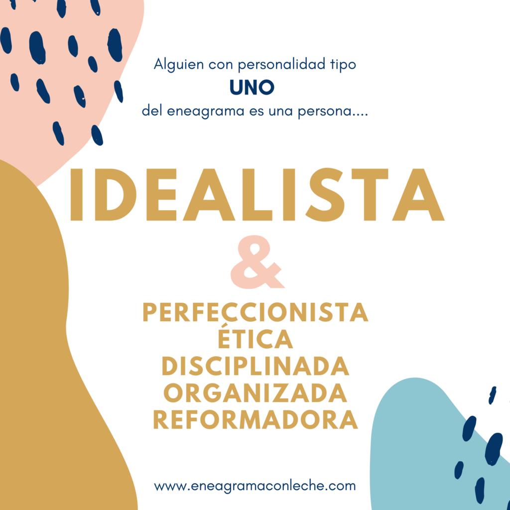 Eneatipo Uno, eneagrama personalidad 1