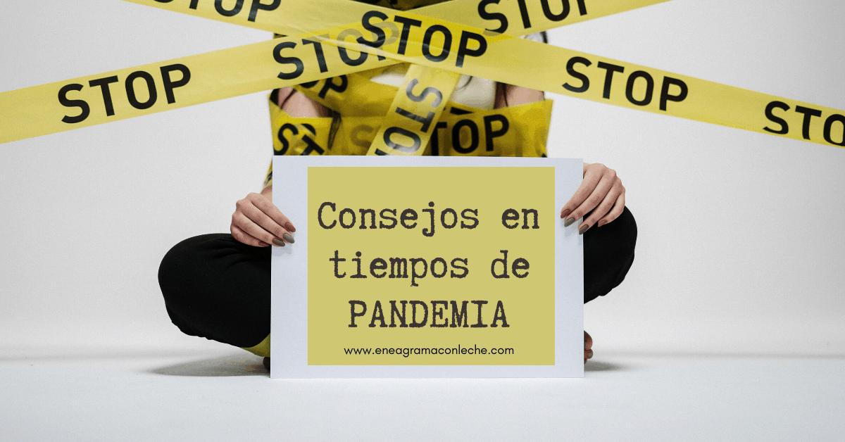 Consejos del Eneagrama durante la Pandemia