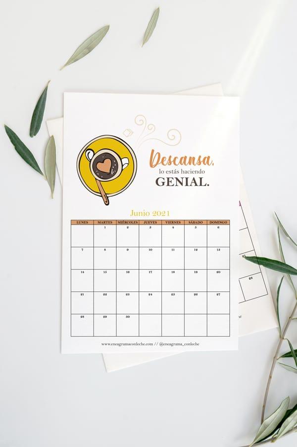 Calendario 2021 Eneagrma Gratuito Imprimir